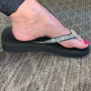 Flip flops Swarovski Crystals 8